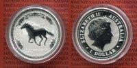 1 Dollar 2002 Australien Australien 1 Dollar 2002 Jahr des Pferdes 1 Un... 89.96 £ 115,00 EUR  +  6.65 £ shipping