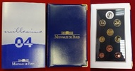 Kursmünzensatz KMS 3,88 Euro + 5 Euro Silbermünze 2004 Frankreich 1 Cen... 68.47 £ 89,00 EUR