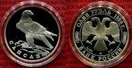 1 Rubel Silber 1996 Russland Gefährdete Tierwelt Wanderfalke pp in Kaps... 57.55 £ 69,00 EUR  +  7.09 £ shipping