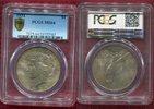 1 Dollar Silbermünze 1934 USA Peace Typ PC...