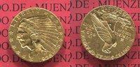 2 1/2 Dollars Indian Head Goldmünze 1928 U...