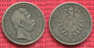 5 Mark Silbermünze 1875 H Hessen Hesse Darmstadt Ludwig III. f. ss nich... 79.17 £ 95,00 EUR  +  7.08 £ shipping