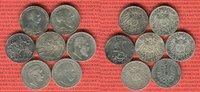 7 x 2 Mark Silbermünzen 1877 - 1913 Baden, Preußen, Württemberg Kaiserr... 99.25 £119,00 EUR95.92 £ 115,00 EUR  +  7.09 £ shipping