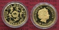 25 Dollars Fußball WM 1/4 Unze Gold 2006 Australien, Australia Soccer W... 312.77 £ 375,00 EUR  +  7.09 £ shipping