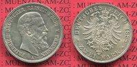2 Mark Silbermünze 1888 Preußen Friedrich III. vz-prfr. patina  57.05 £ 75,00 EUR  +  6.47 £ shipping