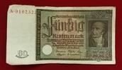 50 Rentenmark 1934 Weimarer Republik Rentenbank 6. Juli 1934 Freiherr v... 45.26 £ 55,00 EUR  +  7.00 £ shipping