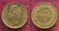 20 Francs Goldmünze 1831 A Frankreich, Fra...