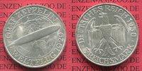 3 Mark 1930 A Weimarer Republik Gedenkmünze Zeppelin Weltflug LZ 127 19... 74.23 £ 89,00 EUR  +  7.09 £ shipping