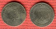 1/2 Speciesthaler, Gulden 1756 Sachsen Wei...