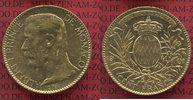 100 Francs Gold Kursmünze 1901 Monaco Monaco 100 Francs 1901 Albert I. ... 960.92 £1249,00 EUR942.46 £ 1225,00 EUR