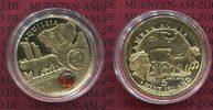 5 Dollars Gold mit Bernstein 2011 Niue Serie Bernsteinstrasse Amber Rou... 482.87 £ 617,28 EUR  +  6.65 £ shipping