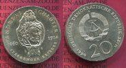 20 Mark Silbermünze DDR 1990 DDR Eastern G...