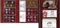 Kursmünzensatz mit Silber und 1 Dollar 2007 USA PP Satz mit Silbervaria... 52.41 £ 67,00 EUR  +  6.65 £ shipping