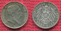 5 Mark Silbermünze 1907 Baden, Kaiserreich 1871-1918 Baden 5 Mark 1907,... 58.33 £ 70,00 EUR  +  7.08 £ shipping