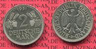 2 DM Weintrauben Ähren 1951 D Bundesrepublik Deutschland 2 DM 1951 D, W... 42.31 £ 55,00 EUR
