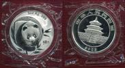 50 Yuan Silbermünze Panda 5 Unzen 2003 Chi...
