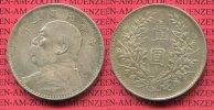 1 Dollar 1914 ff China China 1 Dollar Yuan Shih Kai ca. 1914  ss patina*  73.60 £ 95,00 EUR