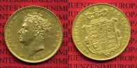 England  Great Britain UK Sovereign Goldmünze Guinea England 1826 Sovereign England Goldmünze Georg IV. Shield