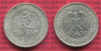 Weimarer Republik Deutsches Reich 5 Mark Silber Eichbaum Kursmünze Weimarer Republik 5 Mark Eichbaum Kursmünze 1931 A  Silber