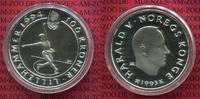 100 Kronen Oly Lillehammer Silbermünze 1993 Norwegen Norway Norwegen 10... 45.04 £ 54,00 EUR  +  7.09 £ shipping