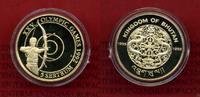 5 Sertum Goldmünze 1993 Bhutan Bhutan 5 Sertum 1993 Olympiade Bogenschi... 153.86 £ 199,99 EUR