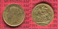 Sovereign Goldmünze für Australien M 1885 England  Great Britain UK Aus... 293.35 £ 375,00 EUR  +  6.65 £ shipping