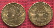 USA 20 Dollars Gold Libert...