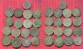 Lot  17 x Kursmünzen 1, 2 Mark 50 Pf. 1924 Weimarer Republik Deutsches ... 152.13 £ 200,00 EUR  +  6.47 £ shipping