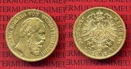 Wuerttemberg, German Empire Grand Duchy  10 Mark Wuerttemberg Goldmünze ... 344.71 £