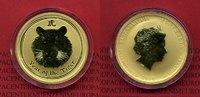 50 Dollars 1/2 Unze Gold 2010 Australien, Australia Lunar Serie I. Jahr... 596.25 £775,00 EUR577.02 £ 750,00 EUR
