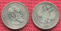 1 Rubel Alexnader III. 1893 Russland Russia Russland 1 Rubel Alexander ... 128.71 £ 150,00 EUR  +  7.29 £ shipping