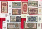 DDR GDR Eastern Germany Banknotensatz 5, 10, 20, 50 und 100 Mark 1955 Te... 55.84 £