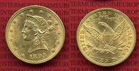 10 Dollars Goldmünze Eagle Coronet Head 1893 USA, United States of Amer... 598.08 £ 699,00 EUR  +  7.27 £ shipping