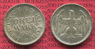 3 Mark Silber Kursmünze 1924 F Weimarer Republik Deutsches Reich Weimar... 55.77 £ 65,00 EUR  +  7.29 £ shipping