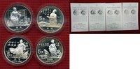 4 x 5 Yuan Silbermünzen 1988 China China 4 x 5 Yuan 1988 Chinesische Pe... 107.17 £ 137,00 EUR  +  6.65 £ shipping