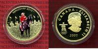 Kanada, Canada 75 Dollars Goldmünze Kanada 75 Dollar 2007 Gold Vancouver 2010 Royal Canadian Mounted Police