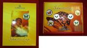 6 x 10 Vatu Cristal Colour Satz 2006 Vanuatu Schmetterlinge Anfang der ... 137.62 £ 165,00 EUR  +  7.09 £ shipping