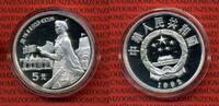 5 Yuan Silber Gedenkmünze 1992 China Volksrepublik, PRC China 5 Yuan 19... 60.78 £ 79,00 EUR