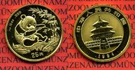 Panda, 1/4 Unze Goldmünze 25 Yuan 1994 China, Peoples Republic PRC Chin... 387.22 £ 495,00 EUR  +  6.65 £ shipping