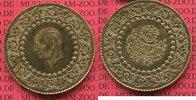 250 Kurush Goldmünze 1962 Türkei, Turkey K...