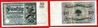 50 Rentenmark 20.3.1925 Weimarer Republik Rentenbank 50 Rentenmark 20. ... 239.60 £ 315,00 EUR  +  6.47 £ shipping