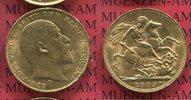 Sovereign, 1 Pfund Goldmünze 1909 England  Great Britain UK England 190... 267.46 £ 325,00 EUR  +  7.00 £ shipping