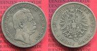 5 Mark Silbermünze 1875 Hessen Hessen 5 Mark 1875 Ludwig III. s nicht g... 62.55 £ 75,00 EUR  +  7.09 £ shipping