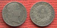 5 Francs 1814 A Frankreich Frankreich 5 Francs 1814 A Napoleon I. ss  84.63 £ 110,00 EUR