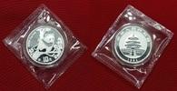 10 Yuan Silbermünze 1994 P China China Pan...