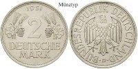 2 DM 1951 F Klein- und Kursmünzen 2 DM 1951, F, Cu-Ni. J.386. ss  22.82 £ 30,00 EUR  +  7.61 £ shipping