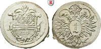 Kreuzer o.J. (ab 1681) Ulm, Reichsstadt  prfr.  54.68 £ 70,00 EUR