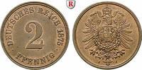 2 Pfennig 1875 J Klein- und Kursmünzen 2 Pfennig 1875, J, Cu. J.2. f.st... 54.68 £ 70,00 EUR