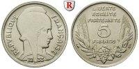 5 Francs 1933 Frankreich III. Republik, 1871-1940 vz  12.78 £ 15,00 EUR  +  8.52 £ shipping