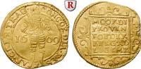 Dukat 1609 Niederlande Utrecht, Gold, 3,47 g ss, l. gewellt; beschnitten  380.32 £ 500,00 EUR  +  7.61 £ shipping